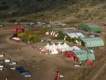 Vista aérea Aeródromo Villanueva del Pardillo 1