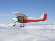 Avión ULM en el aire 3
