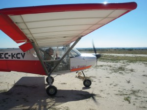 Avión de escuela de vuelo 2