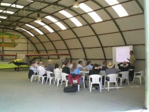Escuela de vuelo - sesión teórica