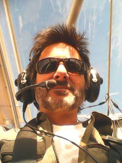Instructor de escuela de vuelo